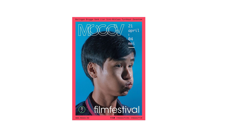 Affiche filmfestival MOOOV 20206