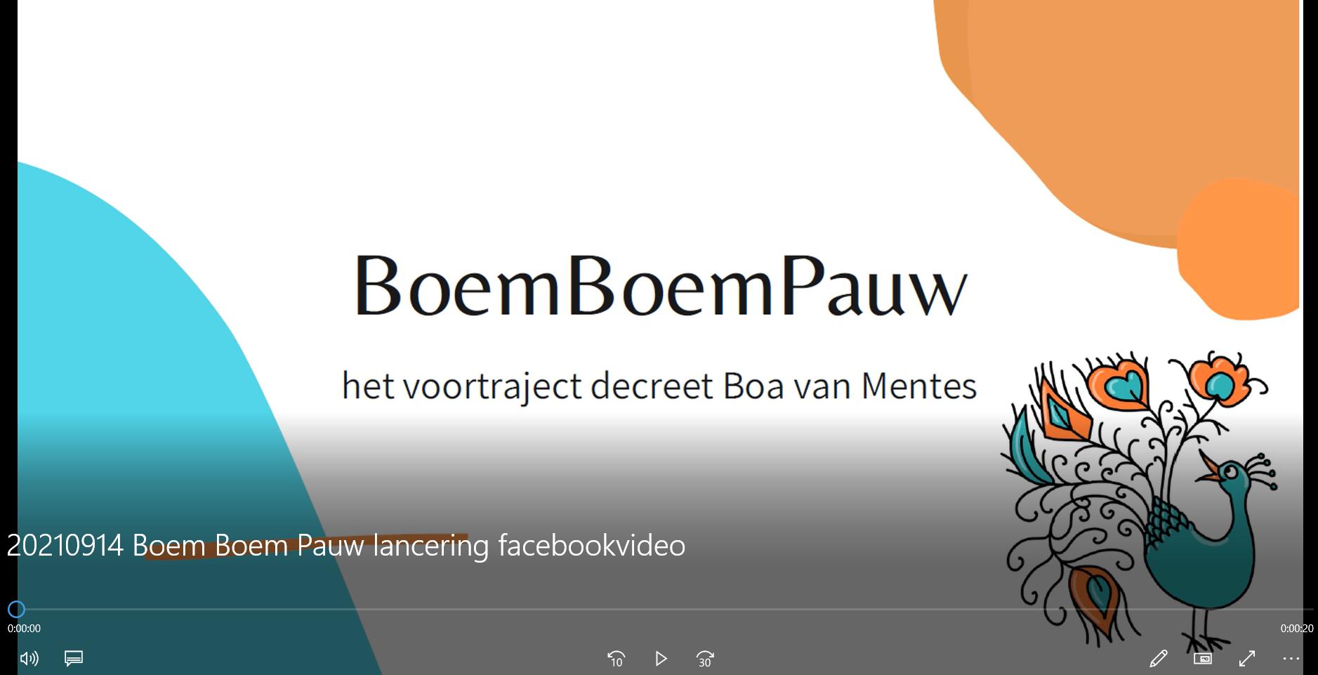 Boem Boem Pauw