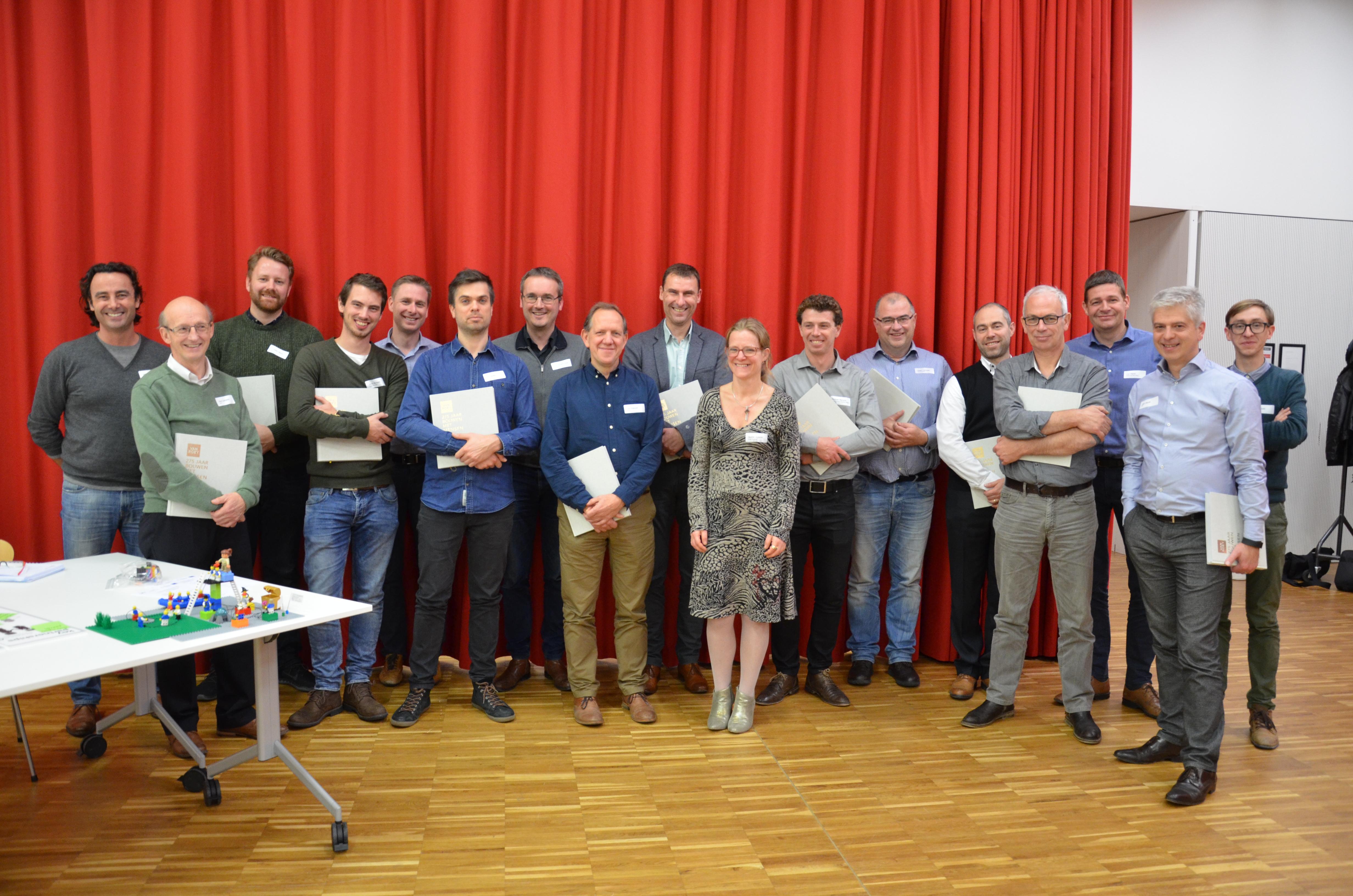 Groep Van Roey Groepsfoto