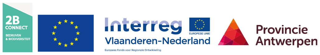 Logos 2B Connect Europa Interreg Provincie