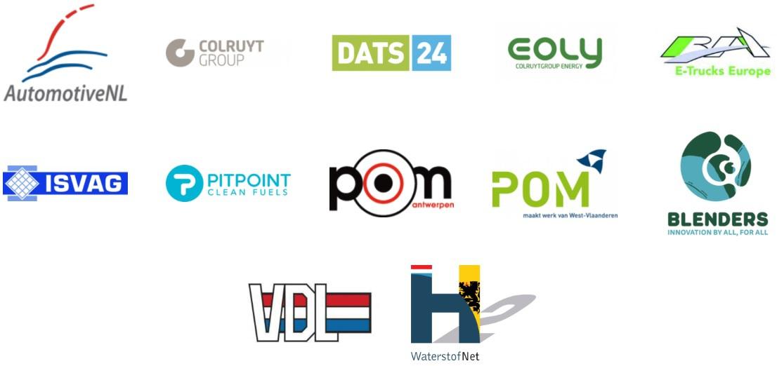 Logos partners Waterstof Net