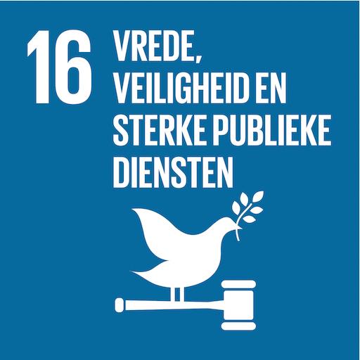 Sdg16 Vrede Veiligheid En Sterke Publieke Diensten