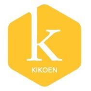 Logo Kikoen Geel Vierkant